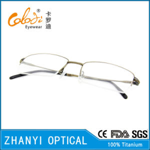 Latest Design Titanium Eyeglass Eyewear Optical Glasses Frame (8313) pictures & photos