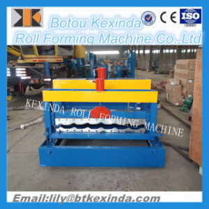 1100 Metal Steel Galzed Roof Tile Making Machine pictures & photos