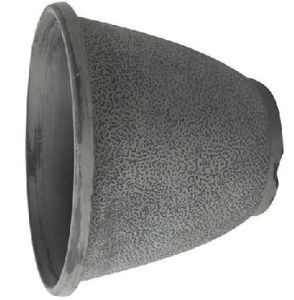 Grey Stone Pattern Plastic Flower Pot Wedding Pot pictures & photos