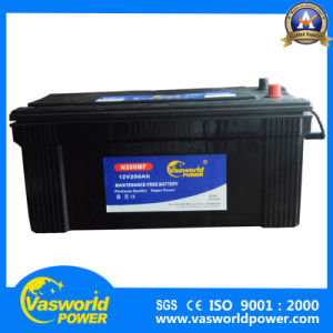 Heat Resistant 12V 200ah China Mf JIS Car Battery pictures & photos