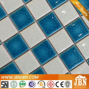 Ice Crack Blue and Green Color Porcelain Mosaic for Swimming Pool (C648029) pictures & photos