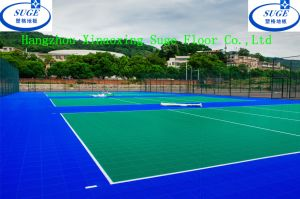 Outdoor Volleyball Court and Football Sports Flooring Tiles pictures & photos