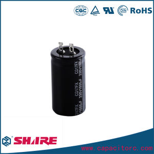 CD293 Snap-in Terminal Electrolytic Capacitor pictures & photos