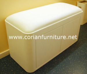 Made in China Acrylic Solid Surface Corian Waiting Chairs pictures & photos