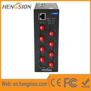 8 Fiber and 2 SFP Port Managed Industrial Ethernet Switch pictures & photos