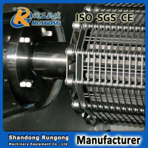 Grid Link Stainless Steel Eye Link Metal Conveyor Wire Mesh Belt for Frying pictures & photos