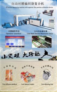 New Function PP Woven Sack Lamination Machine for Sale pictures & photos
