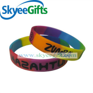 2017 Promotional Gifts Rubber Silicon Bracelet pictures & photos