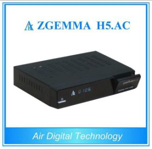 Powerful Mexico/America Digital TV Zgemma H5. AC Linux OS Enigma2 DVB-S2+ATSC Tuners pictures & photos