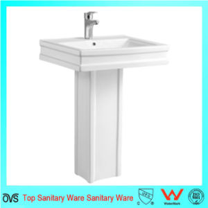 Best Cheap Sink Ceramic Wash Pedestal Basin pictures & photos