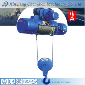 110V Wire Rope Mini Electric Hoist for Crane Using pictures & photos