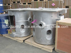 Hydraulic Tilting Type Crucible Electrical Melting Furnace pictures & photos