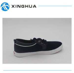 2017 New Hot Sale Comfortable Men′s Canvas Shoes pictures & photos