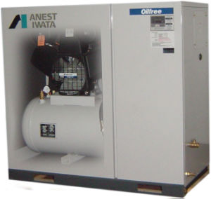 Tfpj55-10 Anest Iwata Oil Free Air Compressor pictures & photos