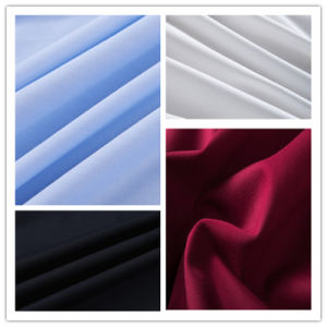 100% Woven Cotton Satin Fabric for Shirt