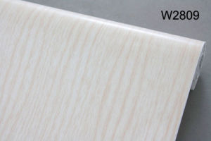 PVC Wood Grain Plastic Film for Furniture Protective