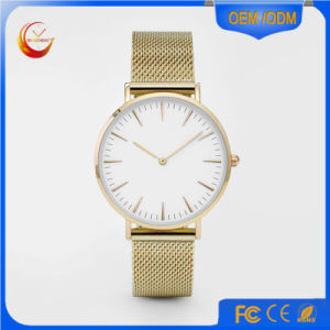 Reloj Wristwatch Watch Leather Strap Watches Quartz Watch (DC-1590) pictures & photos