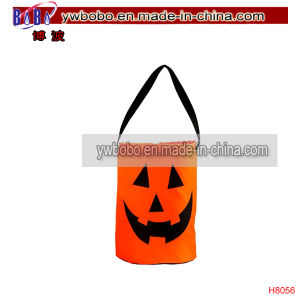 Gifts Bag Packaging Bag Halloween Pumpkin Tote Bag (H8056) pictures & photos
