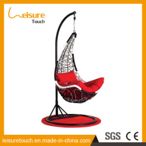 New Design Outdoor All Weather Hand Woven PE Wicker/Rattan Hammock Swing Chair pictures & photos