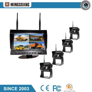 "IP69k Wireless Security Backup Camera with 9"" Car Quad Monitor pictures & photos"