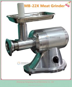 Mini Type Meat Grinding Machine, Pork Meat Grinder for Small Shop (MB-22X) pictures & photos