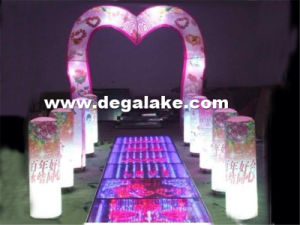 LED Lighting Inflatable Wedding Arch for Decoration pictures & photos