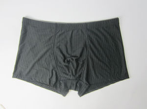 Mens Cotton Black Boxer Briefs pictures & photos