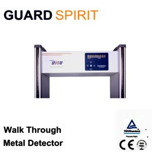 Cheap Full Body Scanning Walk Through Metal Detector pictures & photos