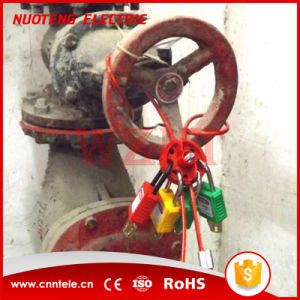 Round Multipurpose Cable Lockout with 8 Holes Red pictures & photos