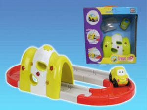 Kids Plastic Educational Tracks Car Baby Toy pictures & photos