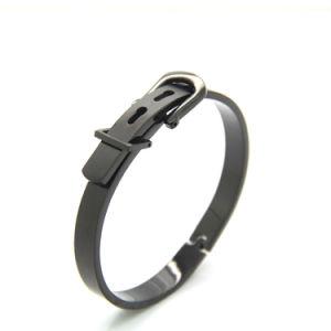 316L Belt Buckle Cuff Bracelet pictures & photos