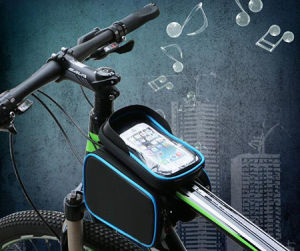 6.2inch Waterproof Bicycle Frame Bag pictures & photos