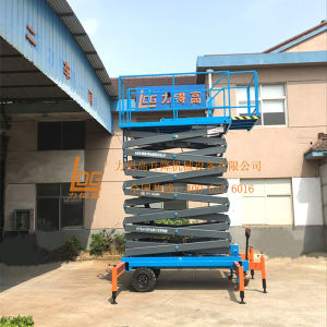 14meters Electric Hydraulic Aerial Working Platform (SJZ0.5-14) pictures & photos
