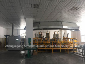 Auotomic Automobile Seat Cushion PU Foaming Line pictures & photos