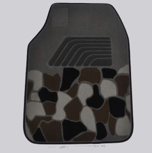 Car Carpet Flat Foot Pad Ribbon Pattern pictures & photos