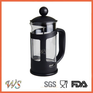 Wschxx028 Hot Sell Plastic French Press Coffee Maker Stainless Steel Coffee Press
