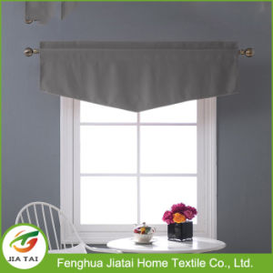Window Drapes Tier Window Curtains Grey Kitchen Curtains pictures & photos