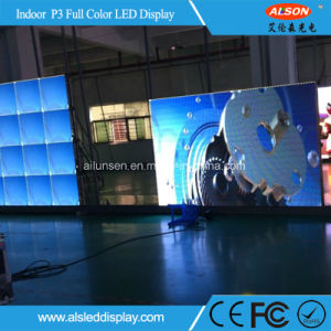 RGB Full Color P3 LED Screen for Indoor Fixed Installation pictures & photos