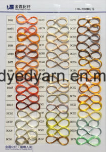 20d/1f Dope Dyed Ployester Monofilament Yarn Drawn pictures & photos
