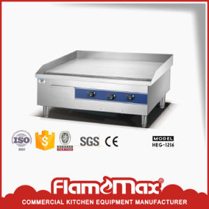 Heg-1216 Heavy Duty Commercial Electric Half Griddle and Half Grill Hot Plate pictures & photos