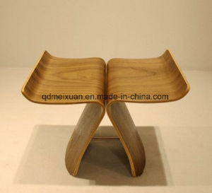 Manufacturers Selling Butterfly Chair Designer Chair Stool Palm Bent Wood Bending Board Chair (M-X3832) pictures & photos