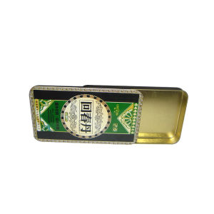 Blank Small Hinged Metal Candy Mint Tins Boxes pictures & photos