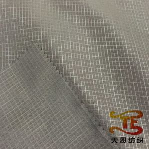 China Textile 240t Polyester Pongee Fabric Embossed Uniform Fabric pictures & photos