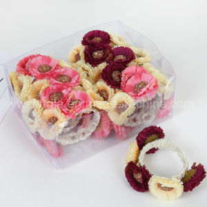 Women Fashion Flower Bangle Bracelet Jewelry pictures & photos