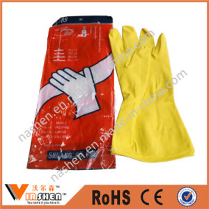 Household Laundry Rubber Washing Gloves pictures & photos