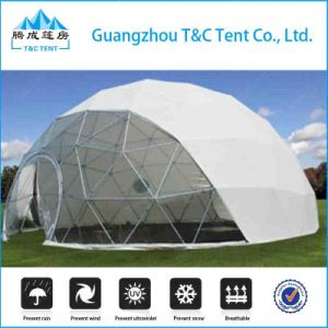 8m Diameter Designed Heavy Duty Geodesic Dome Tent for Sale pictures & photos