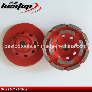 4 Inch Diamond Grinding Cup Wheel with Segments pictures & photos
