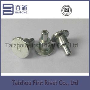 16X31.2mm White Zinc Color Tubular Steel Shoulder Rivet pictures & photos
