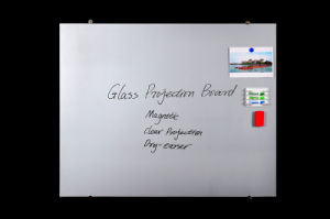Office Non-Glare Tempered Glass Magnetic Interactive Projection Screen pictures & photos