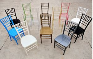 High Quality Promotion Wholesale White Wedding Chairs for Sale pictures & photos